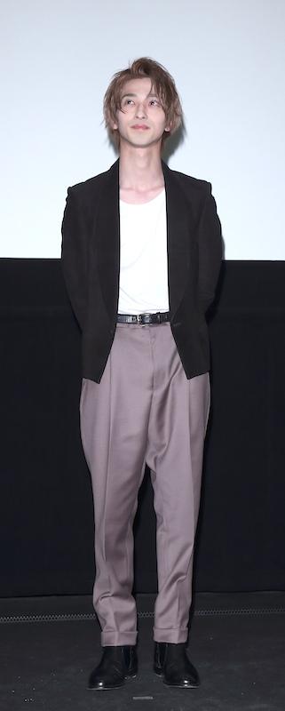 映画『L・DK ひとつ屋根の下、「スキ」がふたつ。』の舞台挨拶に出席した横浜流星