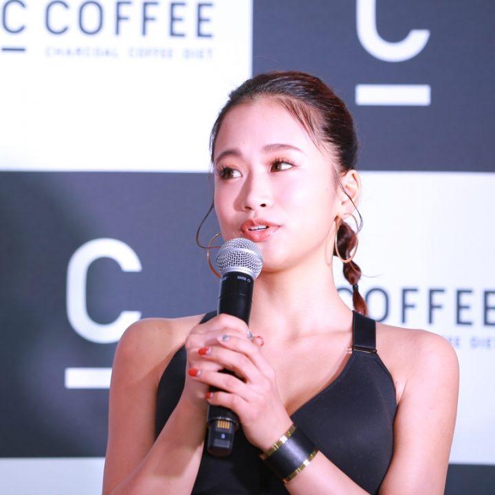 『C COFFEE』発表会に登場した田辺莉咲子