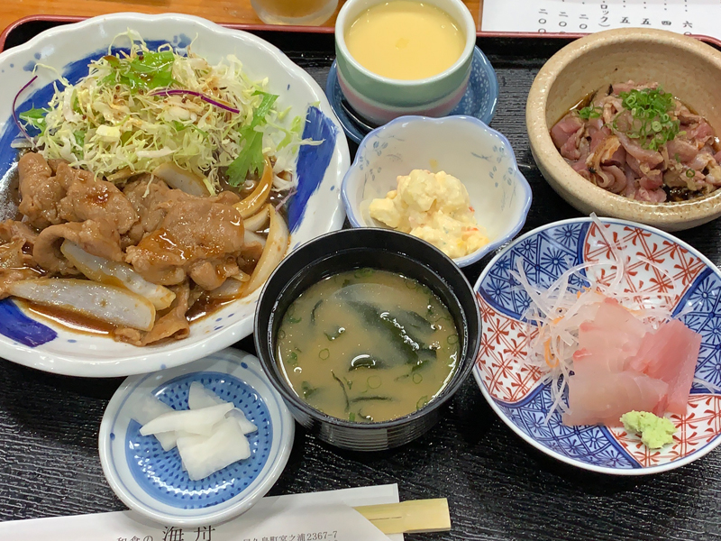 A子が食べた定食