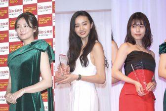 Koki,、有村架純、木村文乃ら美女7人の輝くジュエリーと豪華ドレス【ファッションチェック】