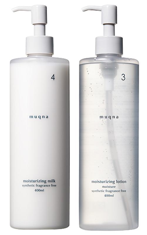 muqna(ムクナ)の化粧水、乳液