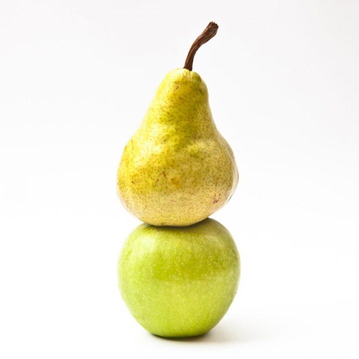 りんごと洋梨