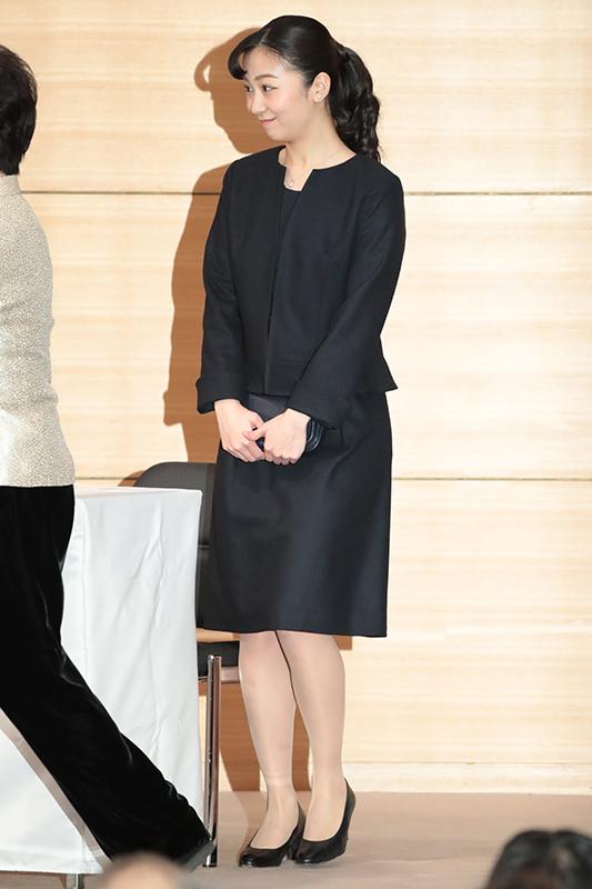 1月27日、東京・千代田区の憲政記念館で行われた「第42回聴覚障害児を育てたお母さんをたたえる会」にご出席された秋篠宮家の次女・佳子さま