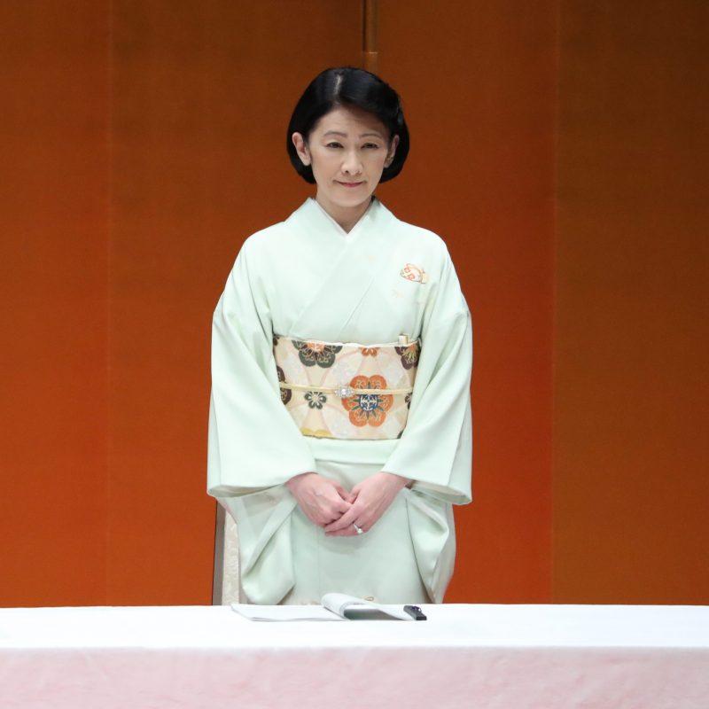 第60回交通安全国民運動中央大会にご臨席される秋篠宮妃紀子さま