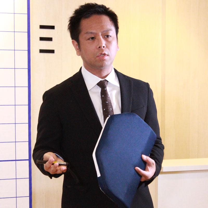 整体師でクワトロハート代表取締役の熊谷剛さん