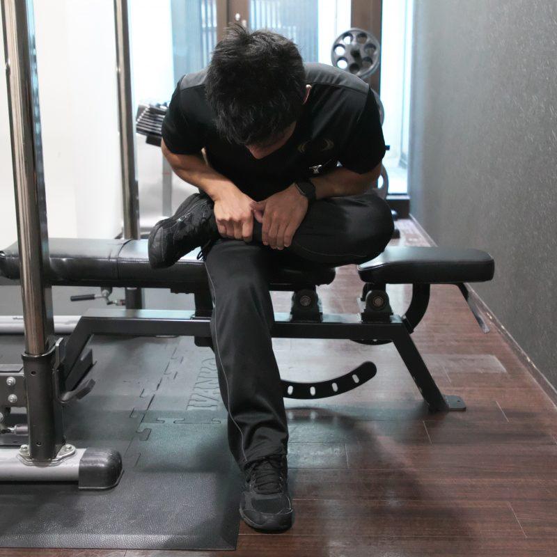 お尻の筋肉を伸ばすストレッチ