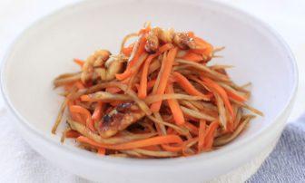 キレイになる常備菜「きんぴらナッツ」なら美肌、デトックスに最適!【市橋有里の美レシピ】
