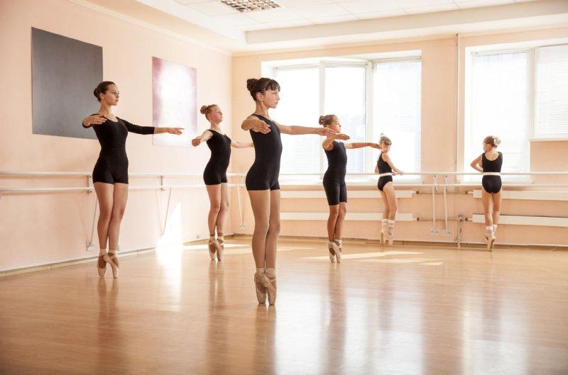 バレエスタジオの写真