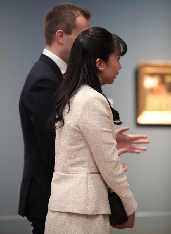 国立新美術館にて「ブダペスト―ヨーロッパとハンガリーの美術400年」展を訪れた佳子さま