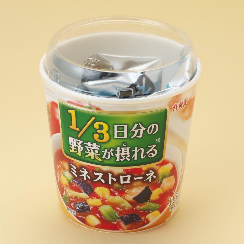 丸美屋食品の1/3日分の野菜が摂れる ミネストローネ