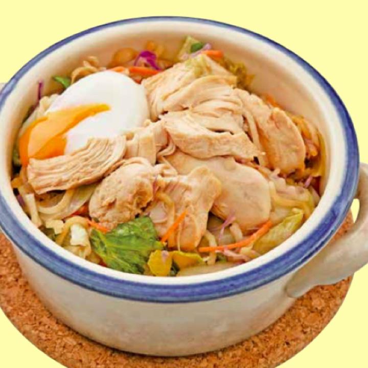 サラダチキン鍋