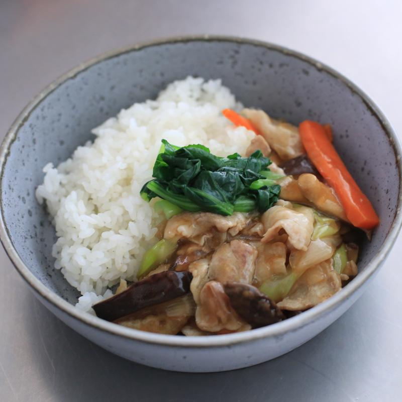市橋有里がレシピ考案した、免疫力がUPする「小松菜あんかけ丼」