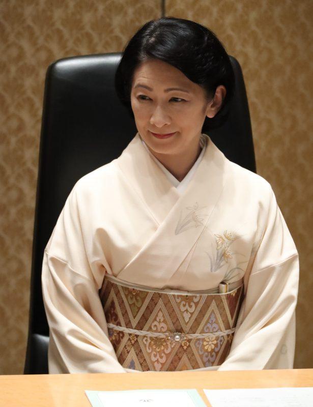 「第16回日本学術振興会賞並びに日本学士院学術奨励賞」の授賞式の記念茶会にご臨席の紀子さま