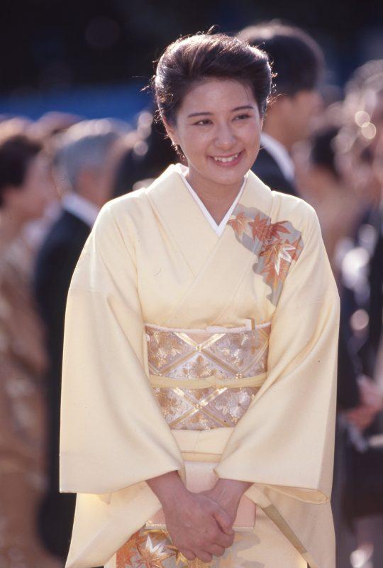 1997年10月の秋の園遊会での雅子さま