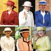 雅子さまの帽子をかぶられた姿6枚