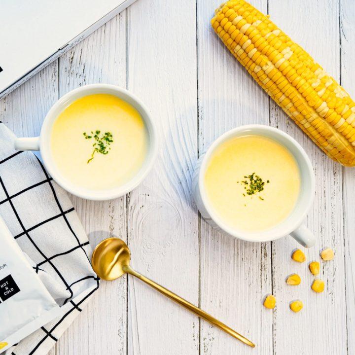 プロテインコーンスープ