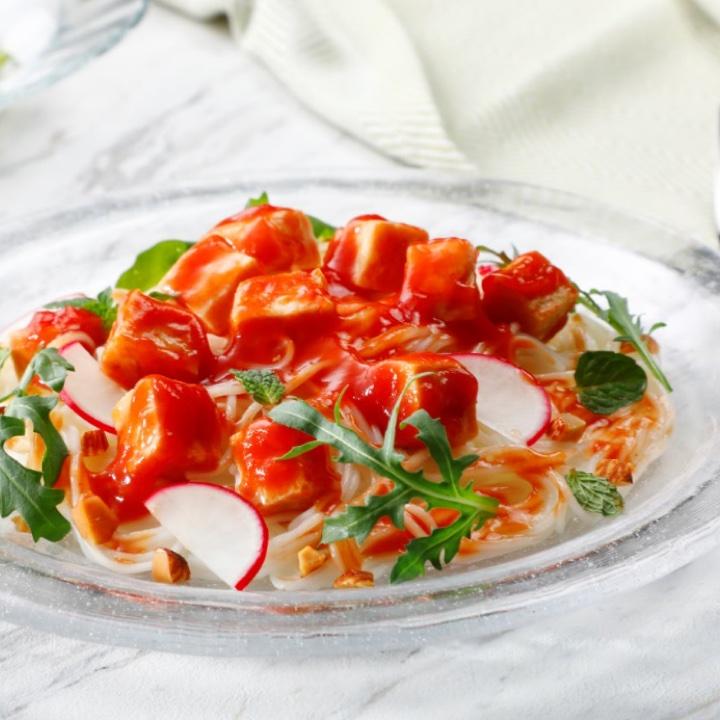 『トマトジュレのサラダチキン』