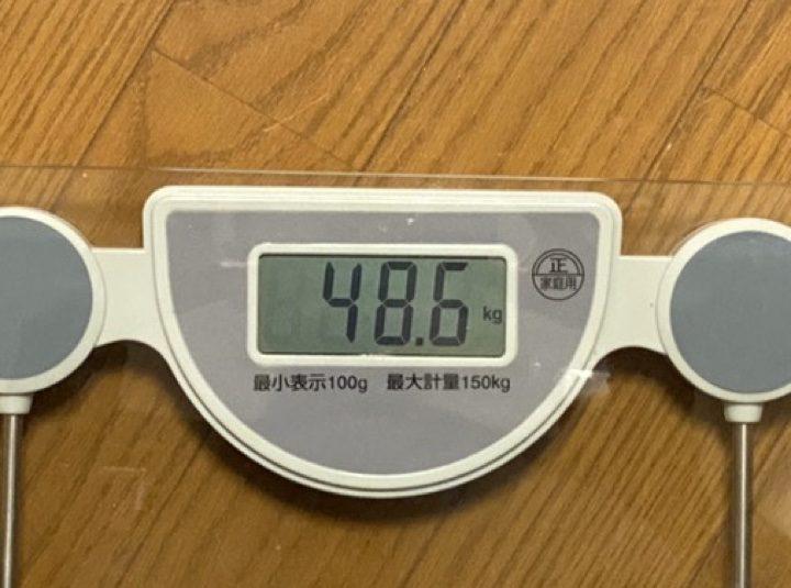 体重計の表示