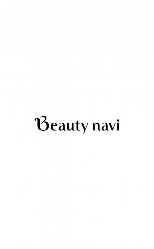 ヘアスタイルアプリ「Beauty navi」のトップ画面