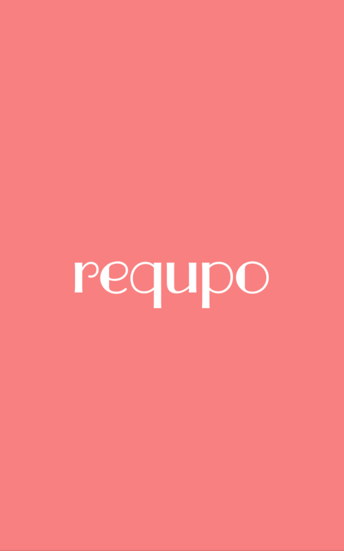 ヘアスタイルアプリ「リクポ」のトップ画面