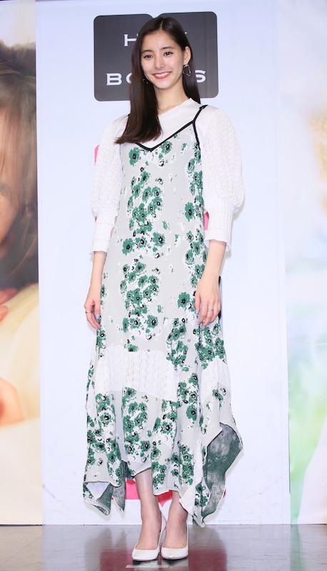 2冊目となる写真集『honey』(SDP)の発売記念イベント(2019年12月14日)に登壇した新木優子