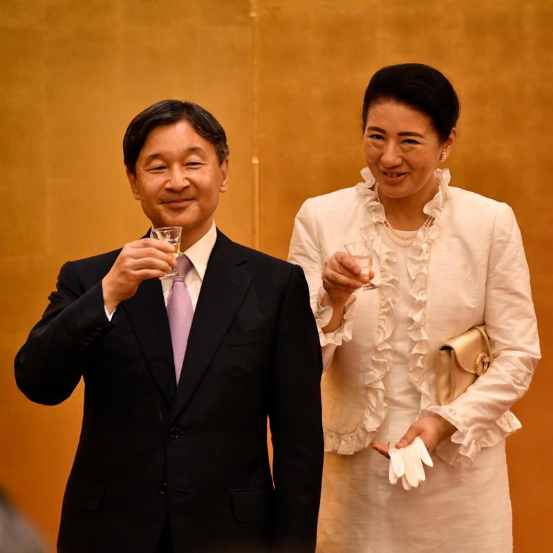 第39回全国豊かな海づくり大会の際の天皇皇后両陛下