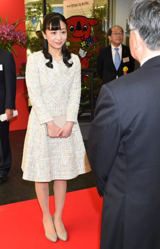 「第69回関東東海花の展覧会」に出席された佳子さま