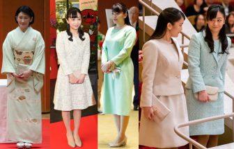 秋篠宮家のプリンセスたちのペールカラーを楽しむ春ファッション集