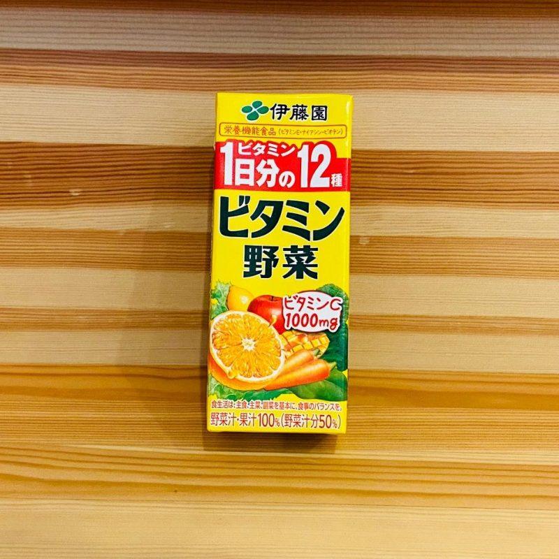 伊藤園のビタミン野菜 200ml