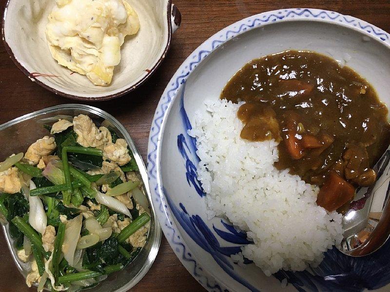オバ記者の夕食
