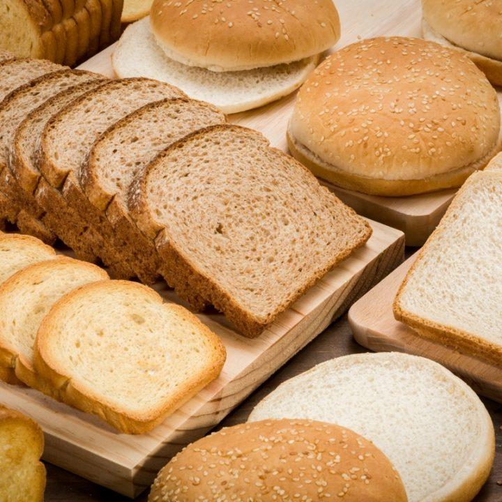 さまざまな種類のパン