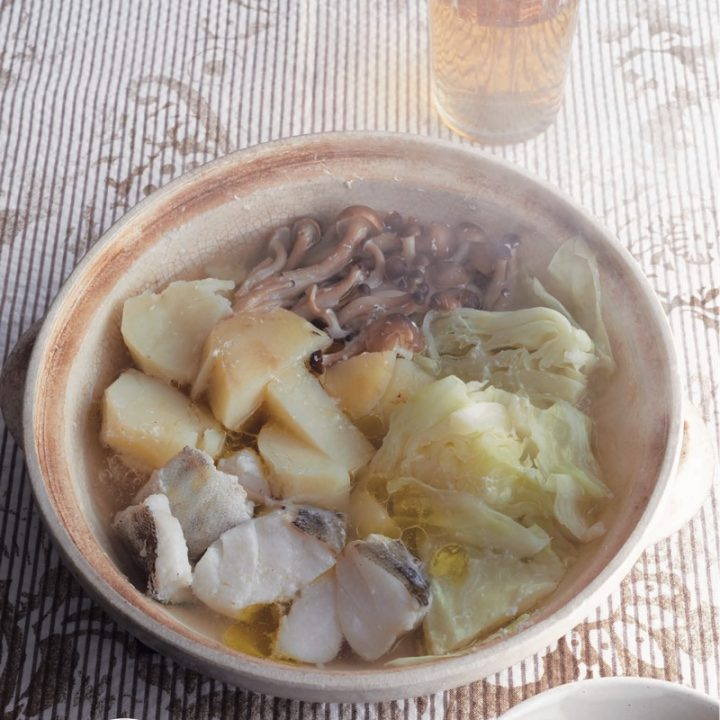 「たらの塩麹鍋」