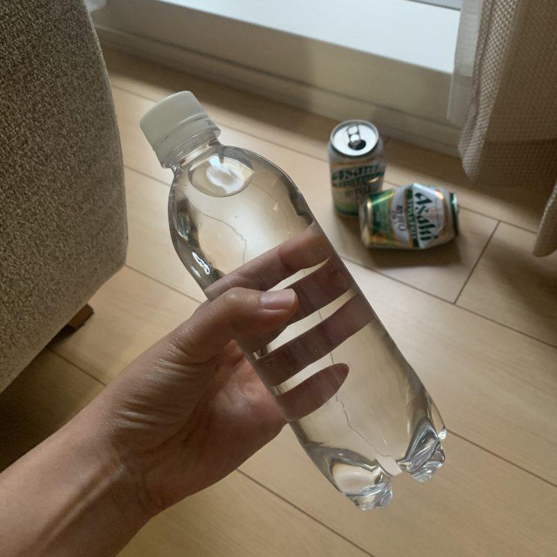 令和版ビリーズブートキャンプで使ったおもり代わりのペットボトル