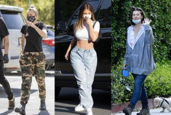 GUCCIのマスクも!ハリウッド女優ら7人の個性あふれるマスクコーデ