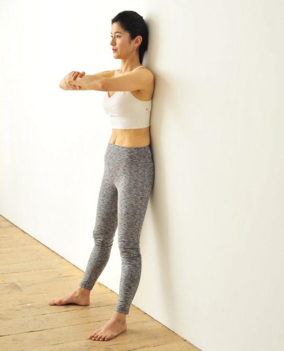 「お尻筋伸ばし」で常に行う基本の呼吸法のやり方2