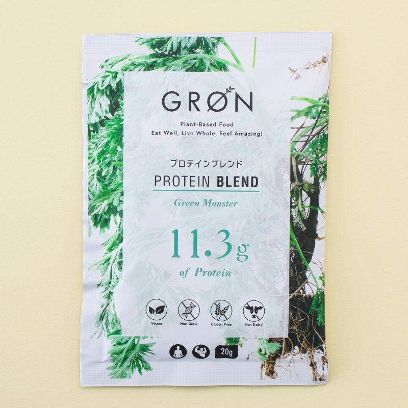 GRONのGRON プロテインブレンド グリーンモンスター