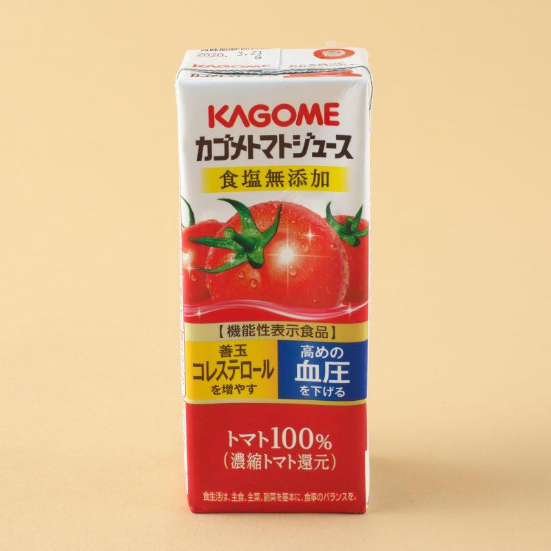 カゴメのカゴメ トマトジュース 食塩無添加200ml