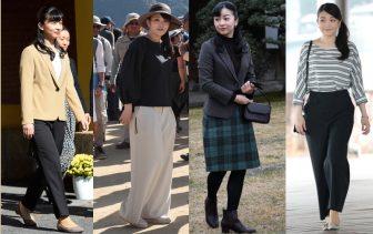 眞子さま佳子さま姉妹の貴重なカジュアルファッション集【写真14枚】