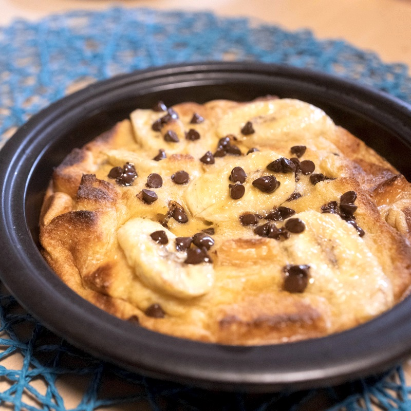 レシピを参考に自作した、ディズニーランド公式ホテルのフレンチトースト