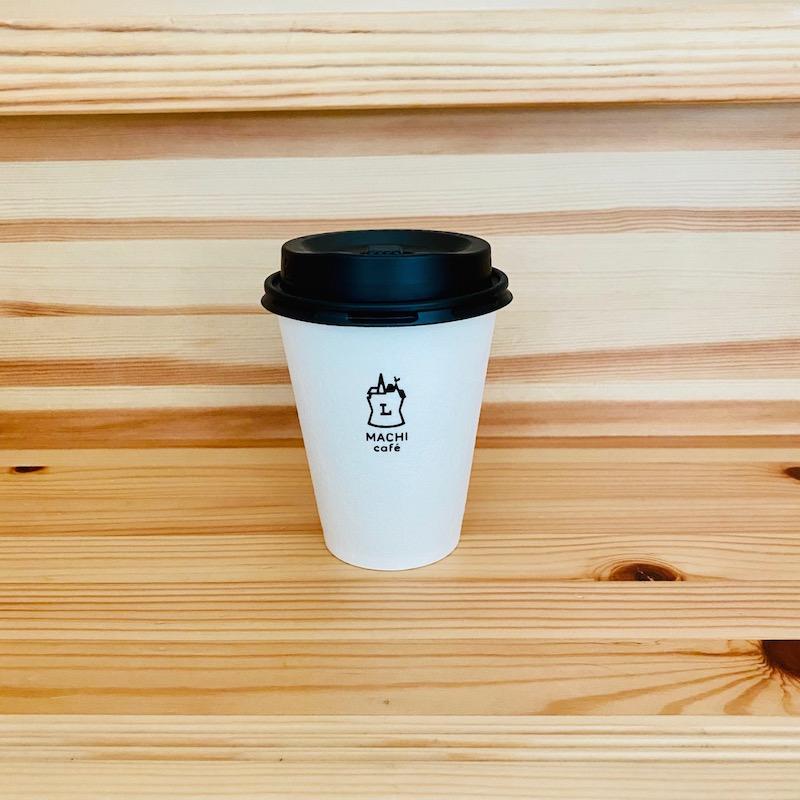ローソンのカフェラテホットMサイズ