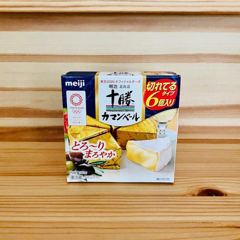 明治北海道十勝カマンベールチーズ切れてるタイプ 90g