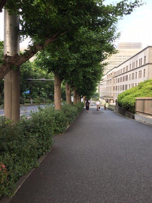 霞が関の坂道