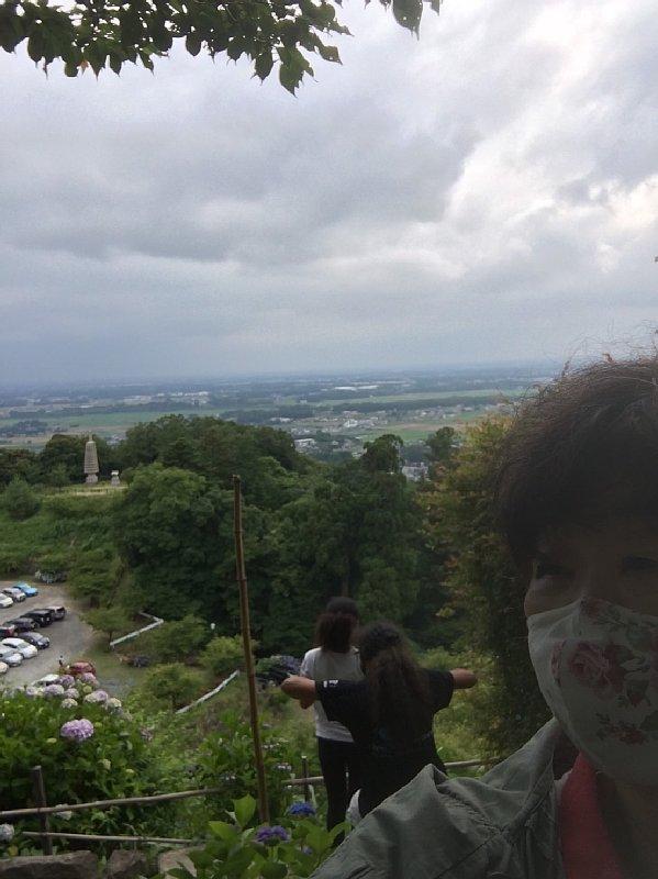 茨城の空とオバ記者