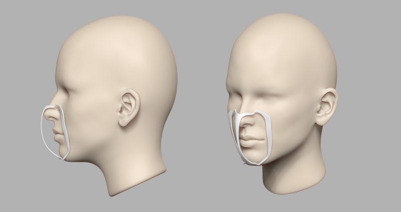 「3Dプリント製 立体インナー:メイクキープフレーム」