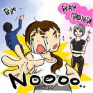 PLAYGROUND GINZA」体験連載記事イラスト