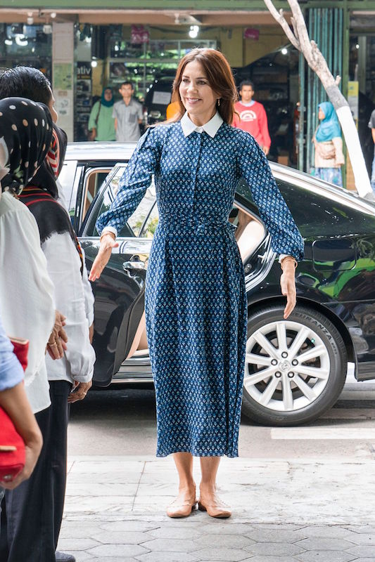 昨年12月の公務でインドネシアを訪問したメアリー妃