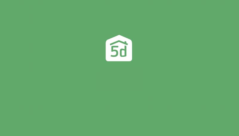 インテリアアプリ「Planner 5D- インテリアデザイン」のトップ画面