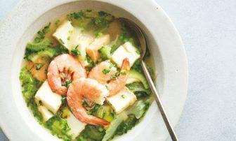 """まさに美容液!? """"ぷる肌""""目指すベジたんスープ「えびと厚揚げのスープ」レシピ"""
