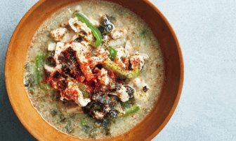 毛穴レスに効くスープ!? 美肌成分たっぷり「豚肉と海苔の酒粕豆乳スープ」レシピ