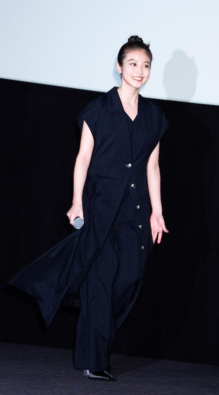 2019年6月14日、映画『メン・イン・ブラック:インターナショナル』の初日舞台挨拶の際の今田美桜